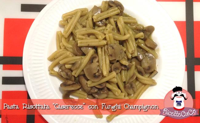 pasta risottata con i funghi porcini caserecce ricetta light monsieur cuisine moncu moulinex cuisine companion ricette cuco bimby