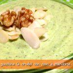 Pesto di zucchine a crudo (senza basilico) con noci e mandole – con e senza il Cuisine Companion