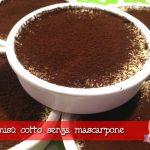 Tiramisù senza mascarpone: un dessert veloce e leggero da fare con e senza il Cuisine Companion