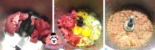 tortino melanzane ripiene luminciane microonde monsieur cuisine moncu moulinex cuisine companion ricette cuco bimby
