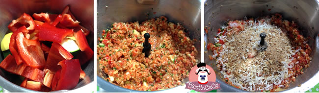 torta salata brise' light leggera dieta verdure miste senza carne bambini bimbi monsieur cuisine moncu moulinex cuisine companion ricette cuco bimby