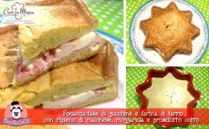 focaccia zucchine farina farro mozzarella prosciutto cotto maionese stampo BIG STAR crea la magia monsieur cuisine moulinex cuisine companion ricette cuco bimby ricettecuco