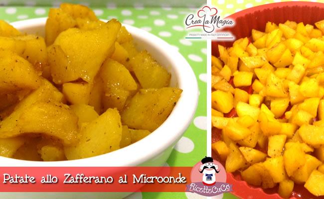 patate zafferano contorno microonde stampo crostata crea la magia monsieur cuisine moulinex cuisine companion ricette cuco bimby ricettecuco