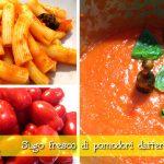 Sugo fresco di pomodori datterini con il Cuisine Companion