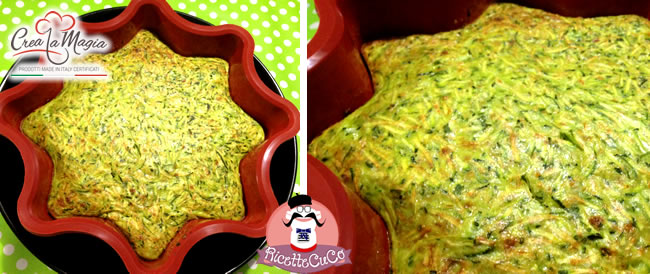 torta zucchine farina mais farro stampo big star crea la magia monsieur cuisine moulinex cuisine companion ricette cuco bimby ricettecuco