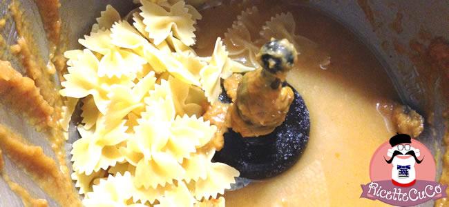 farfalle primo sugo norma datterini monsieur cuisine moncu moulinex cuisine companion ricette cuco bimby