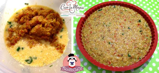 frittata forno cipolle cipollata stampo crostata crea la magia monsieur cuisine moulinex cuisine companion ricette cuco bimby ricettecuco