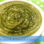 Sugo bianco di Zucchine e Basilico, light e gustoso
