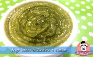 sugo bianco pate zucchine basilico estivo ricetta light monsieur cuisine moncu moulinex cuisine companion ricette cuco bimby
