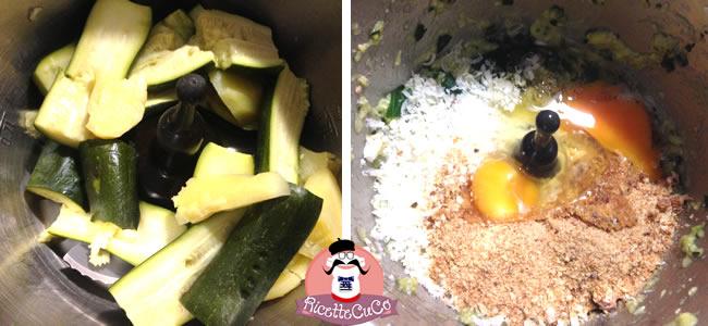 tortino zucchine tonno estate stampo crostata crea la magia monsieur cuisine moulinex cuisine companion ricette cuco bimby ricettecuco