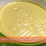 Sugo bianco di zucca gialla e basilico