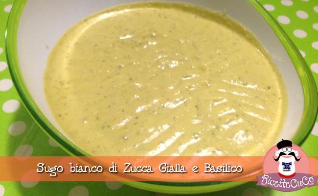 sugo bianco zucca gialla basilico monsieur cuisine moncu moulinex cuisine companion ricette cuco bimby