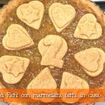 Crostata di fichi con marmellata fatta in casa con il Cuisine Companion