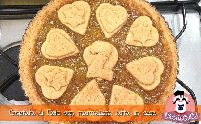 crostata marmellata fichi fatta in casa monsieur cuisine moncu moulinex cuisine companion ricette cuco bimby