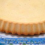 Crostata morbida ricetta base di pan di spagna senza lievito, con il Cuisine Companion