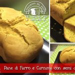 Pane di Farro e Curcuma con semi di papavero con la Macchina del Pane Lidl Silvercrest