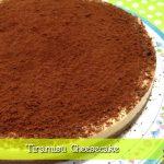 Tiramisù Cheesecake (falsa) senza cottura in forno, senza gelatine o colle di pesce con il Moulinex Cuisine Companion