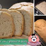 Pane di Kamut con 1 grammo di lievito (metodo Poolish) con la Macchina del Pane Silvercrest
