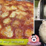 Pizza veloce senza lievitazione con la Macchina del Pane Lidl Silvercrest