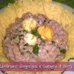 Risotto al Lambrusco, Gorgonzola e Castagne con il Cuisine Companion di Betty – Natale con RicetteCuCo