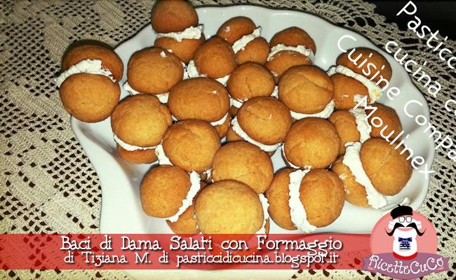 baci di dama salati tiziana m pasticcidicucina.blogspot.it natale ricette natalizie antipasti sfiziosi monsieur cuisine moncu moulinex cuisine companion ricette cuco bimby kcook multi