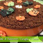 Cheesecake di Halloween (falsa) con Vaniglia e Cacao con il Cuisine Companion