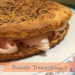 Focaccia Tramezzino con il Cuisine Companion