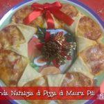 Ghirlanda Natalizia di Pizza di Maura Pili con il Cuisine Companion – Natale con RicetteCuCo