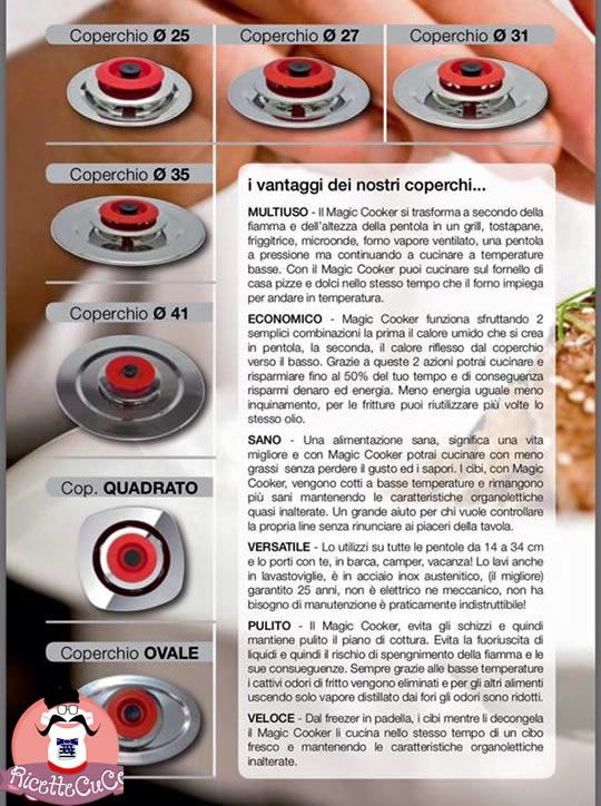 magic cooker coperchi cookermonsieur cuisine moncu moulinex cuisine companion ricette cuco bimby
