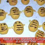 Apine di Miele, Mandorle e Zafferano con il Cuisine Companion di Marilena Mais ricette natalizie dolci monsieur cuisine moncu moulinex cuisine companion ricette cuco bimby kcook kenwood