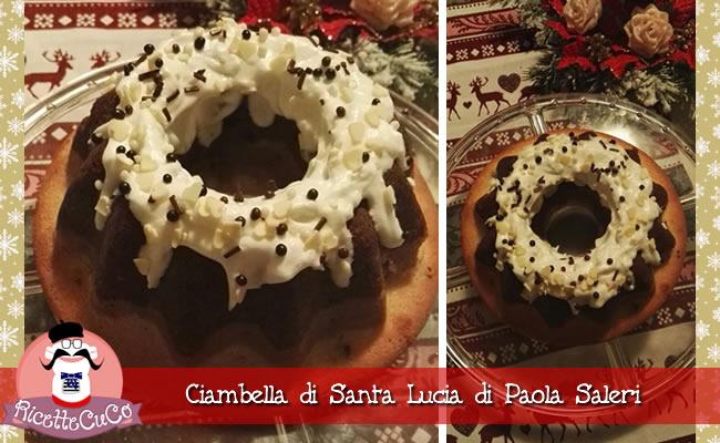 ciambella di santa lucia paola saleri ricette natalizie dolci monsieur cuisine moncu moulinex cuisine companion ricette cuco bimby kcook kenwood