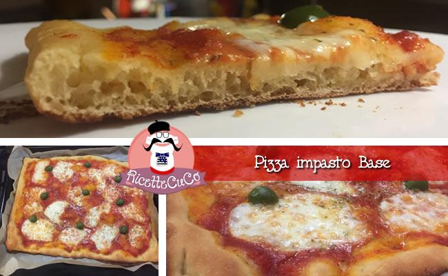 Pizza impasto base con il Cuisine Companion - RicetteCuCo.it