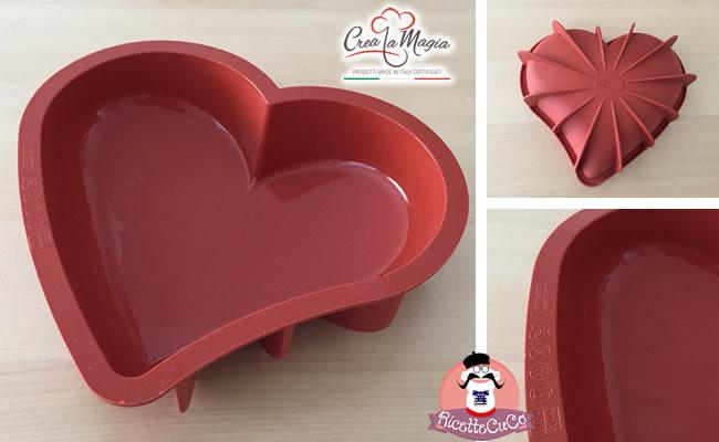 collaborazione con crea la magia stampo cuore love crea la magia monsieur cuisine moulinex cuisine companion ricette cuco bimby ricettecuco san valentino